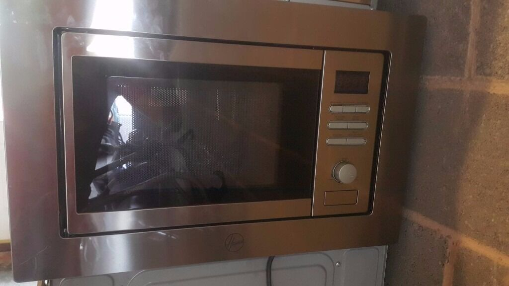 Hoover Hmg200x Built In Microwave And Grill New Ex Display