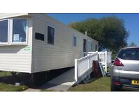 Beautiful ABI Horizon 8 Berth static caravan, at the popular Presthaven Sands Holiday Park.