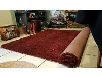 Red Pile Rug ***Pending Collection ***