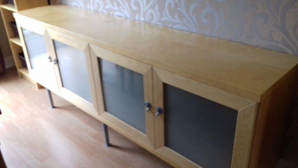 Ikea Birch Credenza : Ikea birch sideboard in epworth south yorkshire gumtree