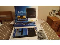 Playstation 4 500GB, camera and mount, official stand and custom controller