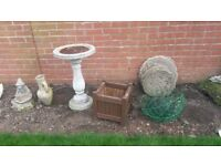 Assorted Garden Pots and ornaments