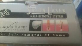 Boxed as new ladies rio salon laser hair removal system