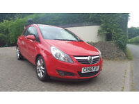 Red 3 door Corsa SXi - One lady owner with full service history