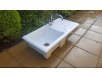 Belfast Style Sink with Drainer