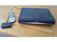 Sky+ HD set top box with remote and wifi box (fully working)