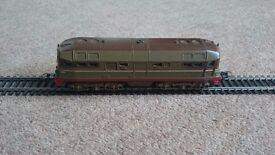 Lima trains diesel D342 4005 brown oo gauge