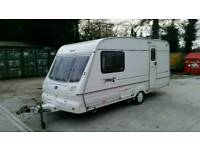 Bailey Pageant Imperial 2 berth motor mover