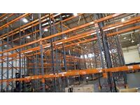 HEAVY DUTY INDUSTRIAL COMMERCIAL WAREHOUSE PALLET RACKING UNIT