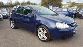 VW GOLF 1.9 TDI SPORT 6 SPEED 5 DOOR 2007 / SERVICE HISTORY / HPI CLEAR / 2 KEYS / GOOD CONDITION