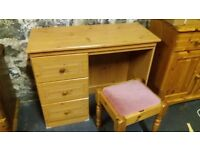 Dressing Table and matching Stool