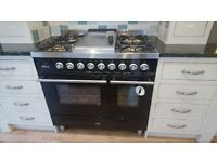 Ex-Display Ilve 90cm Roma Duel Fuel Range Cooker - NEVER USED