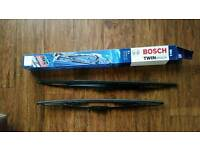 Bosch twin spoiler windscreen wipers 584S