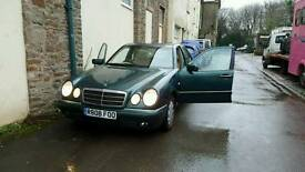 Mercedes e class cream leather and other parts available