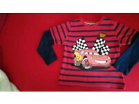 Disney Cars blouse 3-4 years