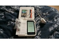 HTC desire 610 with box and free case