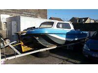 17ft dory 30hp fishing boat