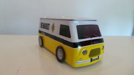 Renault Estafette Van 'Renault Service' Biscuit Tin - Licensed By Renault
