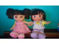 "Dora The Explorer Sleepy Dreams Talking Singing Doll &""Buenas Noches Dora"" Fisher Price"