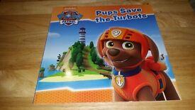 Brand new paw patrol books