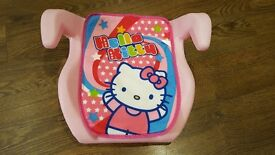 Hello Kitty Car Booster Seat