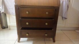 Old oak bureau great for up cycling