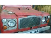 Landrover 90 defender stainless steel grill
