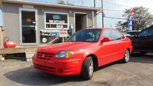 2004 Hyundai Accent GL LOW KMS!!  **CLEAN CARPROOF** CERTIFIED