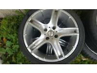 "R 17"" 205/40 Momo Alloy wheels."
