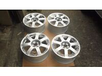 vw audi seat alloy wheels