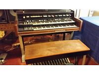Hammond X77 Tonewheel Organ working Order but needs polishing.