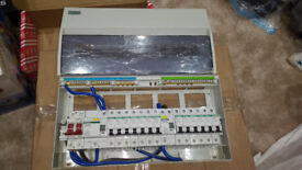 Crabtree 13 Way High Integrity Consumer Unit Fuse Board Dual Rcd + mcbs