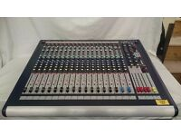 Soundcraft Gb2 16 channel mixing console