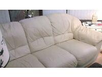 sofa 3 seater leather