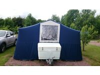 Conway saturn folding trailer tent
