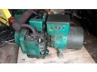 X army large petrol generator