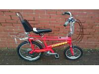Raleigh Chopper Mk3 Red excellent condition