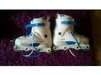 Razor G9 SIZE 7 aggressive skates roller blades