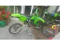 KX 80 Kawasaki 1986