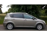 TOYOTA COROLLA VERSO AUTOMATIC, 56 REG, 72K MILES, 7 SEATS, HPI CLEAR, DELIVERY AVAILABLE,