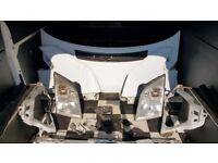 Mk7 transit front end silver, white