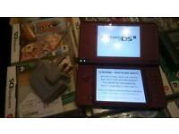 Nintendo dsi xl immaculate with charger and 45games