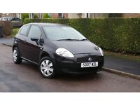 FIAT PUNTO 07 PLATE 1.2 PETROL MANUAL 3 DOOR ++12 MONTHS MOT++IDEAL FIRST CAR