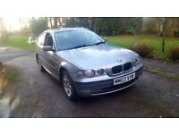 BMW 320TI D MSPORT VERY RELIBLE CHEEP TO RUN