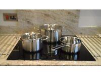 3 piece pan set