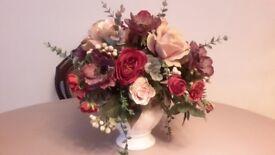 Artificial mixed flower bouquet