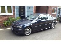 BMW 3 SERIES 330CD M SPORT 6 SPEED MANUAL SATNAV TV HUGE SPEC