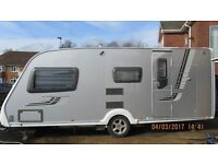 SWIFT CONQUEROR 530 VGC 2010. Spacious 4 berth caravan fully serviced would suit couple or family