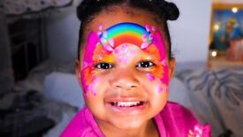 Face painting, Glitter, Party Bags and Parties