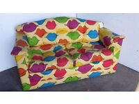 Unused (shop display) Kids foam 'flop out' foam action sofabed bed settee sofa.